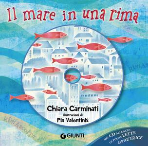 Il mare in una rima. Ediz. a colori. Con CD-Audio