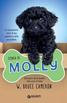 Storia di Molly - W. Bruce Cameron - copertina