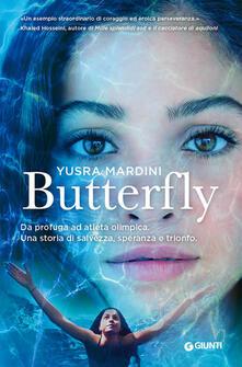 Butterfly - Yusra Mardini - copertina