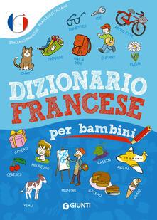 Dizionario francese per bambini - Margherita Giromini - copertina