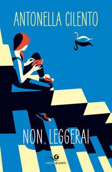 Non leggerai - Antonella Cilento - copertina