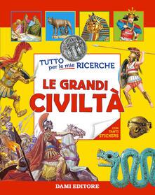 Radiospeed.it Le grandi civiltà. Con adesivi Image
