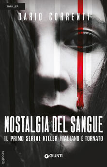 Nostalgia del sangue - Dario Correnti - copertina