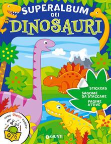 Aboutschuster.de Superalbum dei dinosauri. Con adesivi Image
