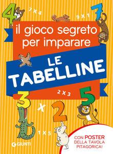 Radiospeed.it Il gioco segreto per imparare le tabelline. Con Poster Image