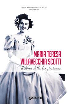 Villavecchia Scotti Maria Teresa - Simone Cutri - copertina