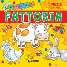 Listadelpopolo.it Fattoria. Libro puzzle. Ediz. illustrata Image