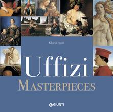 Uffizi masterpieces - Gloria Fossi - copertina