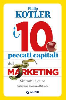 Secchiarapita.it I 10 peccati capitali del marketing. Sintomi e cure Image