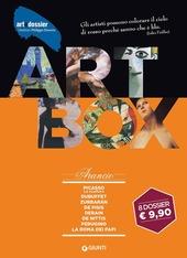 Dossier d'art. Box arancio: Picasso. La scultura-Dubuffet-Zurbarán-De Pisis-Derain-De Nittis-Perugino-La Roma dei papi