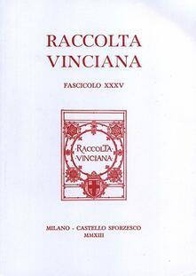 Raccolta vinciana (2013). Vol. 25 - copertina