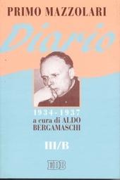 Diario (1934-1937). Vol. 3/B