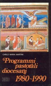 Programmi pastorali diocesani (1980-1990)