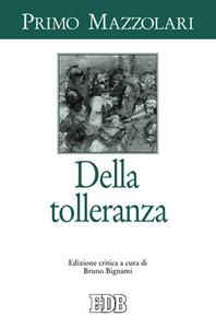 Libro Della tolleranza Primo Mazzolari