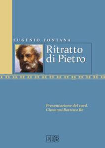 Foto Cover di Ritratto di Pietro, Libro di Eugenio Fontana, edito da EDB