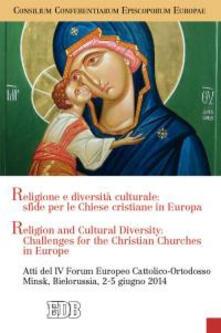 Religione e diversità culturale: sfide per le Chiese cristiane in Europa. Religion and cultural diversity: challenges for the Christian Churches in Europe - copertina