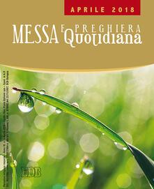 Messa e preghiera quotidiana (2018). Vol. 4: Aprile. - copertina
