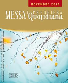 Messa e preghiera quotidiana (2018). Vol. 10: Novembre. - copertina
