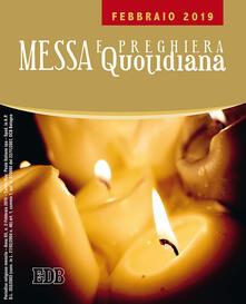 Messa e preghiera quotidiana (2019). Vol. 2: Febbraio. - copertina