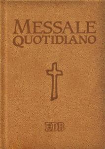 Libro Messale quotidiano. Festivo e feriale. Letture bibliche dal nuovo lezionario CEI