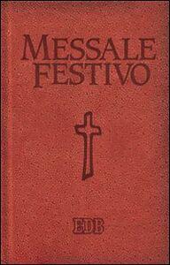 Libro Messale festivo. Letture bibliche dal nuovo lezionario CEI
