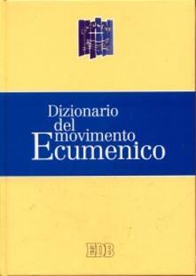 Dizionario del movimento ecumenico - copertina