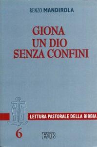 Foto Cover di Giona. Un Dio senza confini, Libro di Renzo Mandirola, edito da EDB