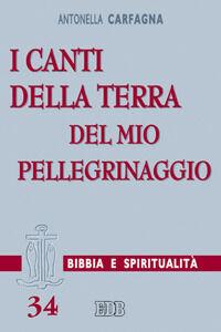 Libro I canti della terra del mio pellegrinaggio. (Sal 119,54) Antonella Carfagna