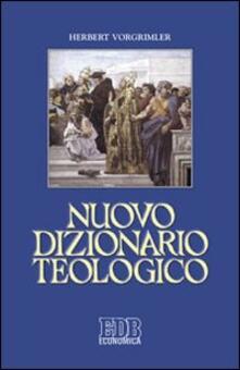 Osteriacasadimare.it Nuovo dizionario teologico Image