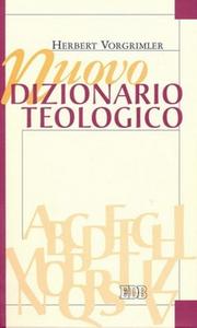 Libro Nuovo dizionario teologico Herbert Vorgrimler