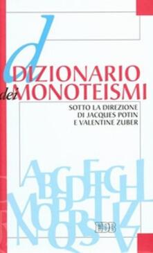 Dizionario dei monoteismi - copertina