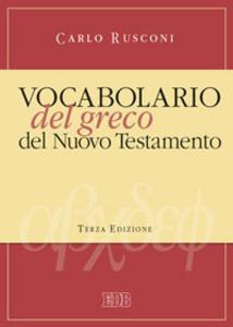 Libro Vocabolario del greco del Nuovo Testamento Carlo Rusconi