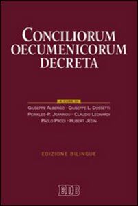 Libro Conciliorum oecumenicorum decreta. Ediz. bilingue