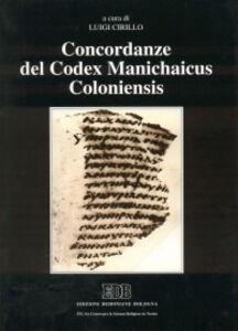 Libro Concordanze del «Codex Manichaicus Coloniensis»