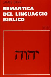 Libro Semantica del linguaggio biblico James Barr