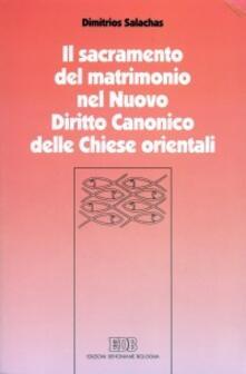 Promoartpalermo.it Il sacramento del matrimonio nel nuovo diritto canonico delle Chiese orientali Image
