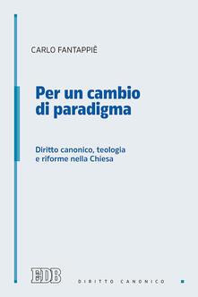 Lpgcsostenible.es Per un cambio di paradigma. Diritto canonico, teologia e riforme nella Chiesa Image