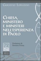 Chiesa, ministero e ministeri nell'esperienza di Paolo