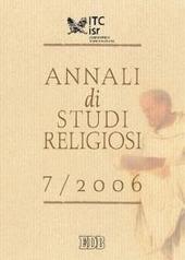 Annali di studi religiosi (2006). Vol. 7