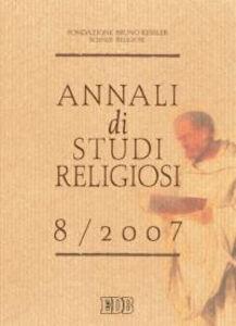 Foto Cover di Annali di studi religiosi (2007). Vol. 8, Libro di  edito da EDB