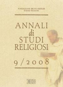 Foto Cover di Annali di studi religiosi (2008). Vol. 9, Libro di  edito da EDB