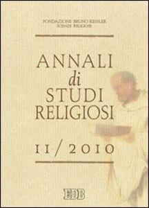 Libro Annali di studi religiosi (2010). Vol. 11