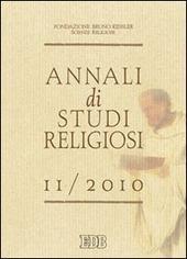 Annali di studi religiosi (2010). Vol. 11