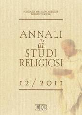 Annali di studi religiosi (2011). Vol. 12