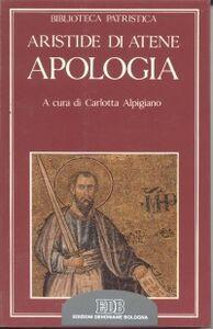 Libro Apologia Aristide di Atene