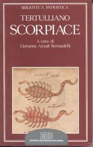 Libro Scorpiace Quinto S. Tertulliano