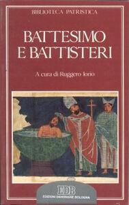 Libro Battesimo e battisteri