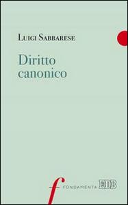 Libro Diritto canonico Luigi Sabbarese