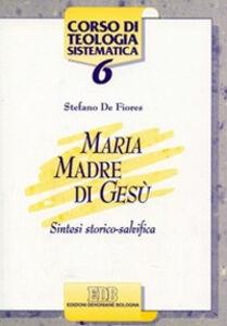 Libro Maria madre di Gesù. Sintesi storico salvifica Stefano De Fiores