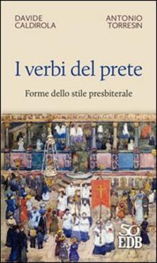 I verbi del prete. Forme dello stile presbiterale.pdf